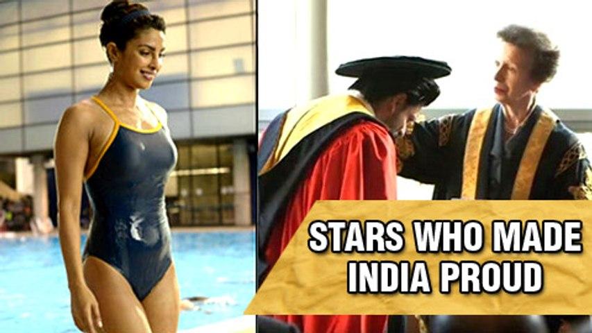 Salman Khan, Shahrukh Khan, Priyanka Chopra And Celebs | Top 5 Stars Who Made India Proud In 2015
