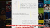 The Rorschach Basic Foundations and Principles of Interpretation Volume 1