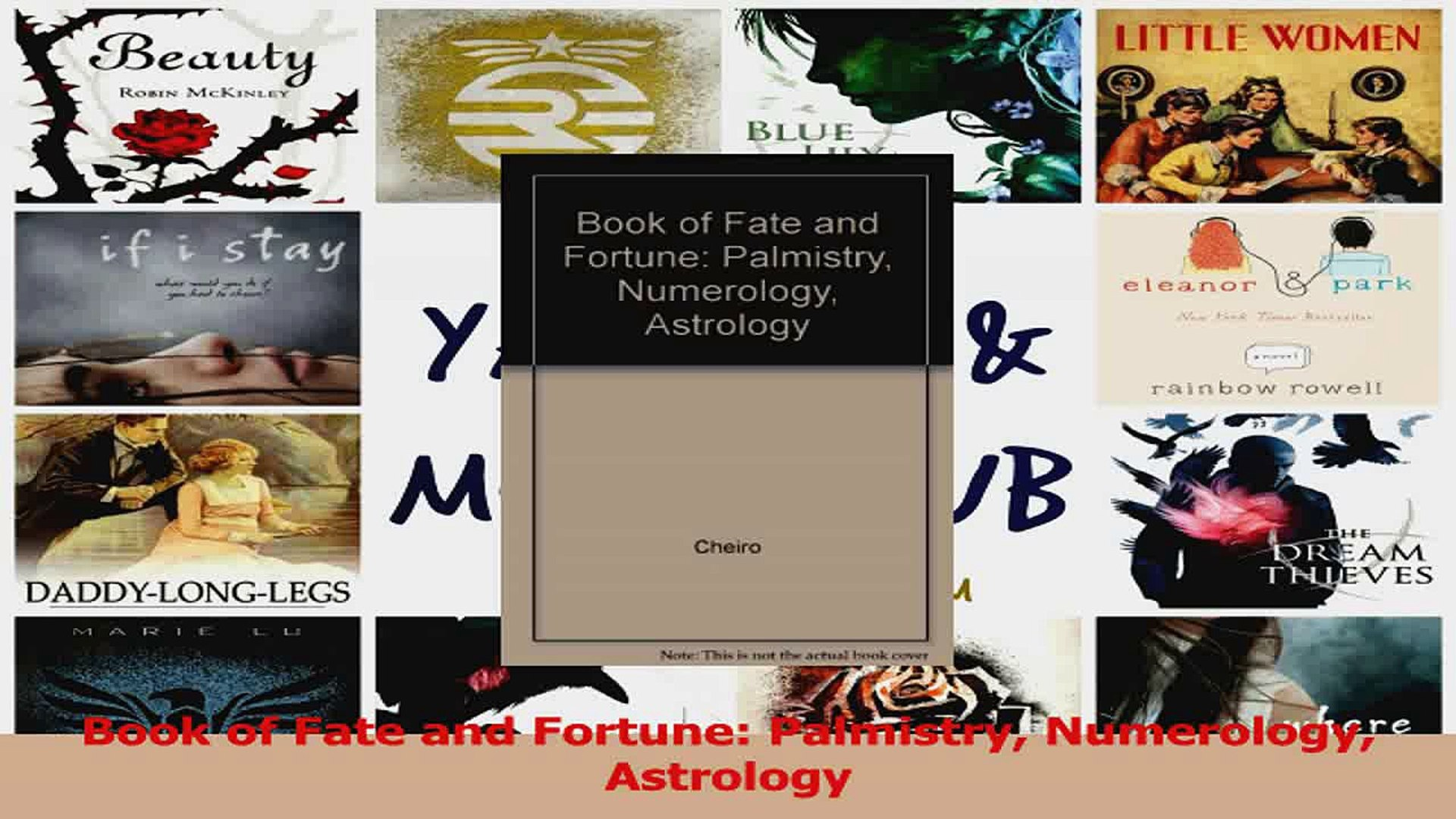 PDF Download Book of Fate and Fortune Palmistry Numerology Astrology PDF  Online