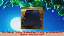Download The Orphic Poems (Oxford University Press Academic