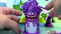 Pâte à modeler Play Doh Coiffeur Monstres et Cie Coiffures ♥ Monstres Academy
