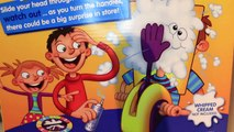 Pie Face! NEW Game Pie Smashed in Face at Toy Fair by ToysReviewToys and DisneyCarToys