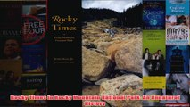 Rocky Times in Rocky Mountain National Park An Unnatural History