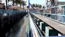Roller Roller Coaster Ride - Disneyland Los Angeles (in HD) las angels