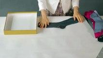 La technique la plus simple et économique pour ranger ses sous-vêtements dans le tiroir