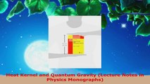 Read  Heat Kernel and Quantum Gravity Lecture Notes in Physics Monographs PDF Online