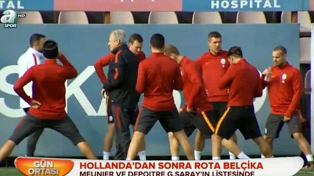 Galatasaraydan transfer haberleri - Meunier, Depoitre (30 Aralık 2015 - A Spor)