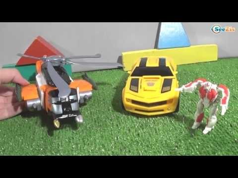 Машинки Трансформеры: Мультфильм из Игрушек для детей. Истории про машинки