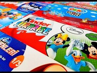 ✔ Шоколадные Яйца - Киндер Сюрприз. Красивые Игрушки для детей / Kinder Surprise. Video for Kids ✔