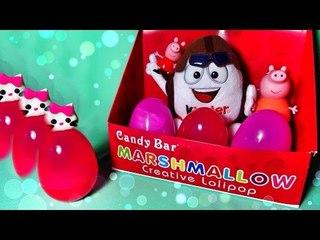 ✔ Шоколадные Яйца - Киндер Сюрприз. Хелло Китти - Новая Игрушка / Hello Kitty Surprise Eggs ✔