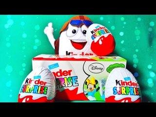 ✔ Шоколадные Яйца - Киндер Сюрприз. Распаковка - Пингвины Мадагаскара Часть 2. Видео для детей