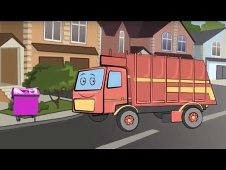 ➲ Myjnia Samochodowa i Śmieciarka. Bajki dla dzieci  Garbage Truck