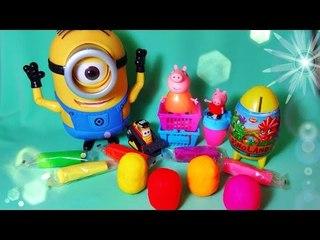 ✔ Шоколадные Яйца - Киндер Сюрприз. Новые игрушки - Миньоны / Minions Toys. Video for Kids ✔