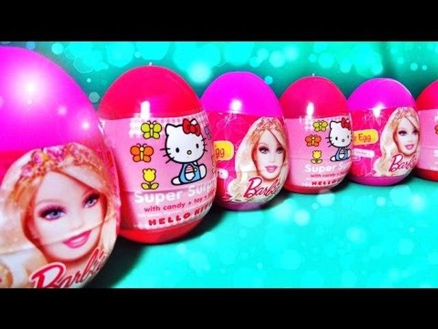 ✔ Шоколадные Яйца - Киндер Сюрприз. Распаковка Новых Игрушек - Кукла Барби / Barbie Doll ✔