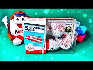 ✔ Шоколадные Яйца - Киндер Сюрприз. Новые Игрушки-Статуэтки Для Детей / Video for Kids ✔