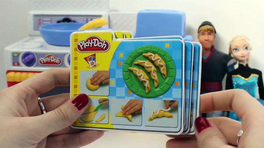 Frozen Play Doh Meal Makin Kitchen Playset Play Dough Kitchen Cocinita de Juguete con Plas
