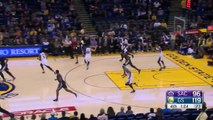 Stephen Curry Laughs after Seth Currys 3-Pointer | Kings vs Warriors | November 28, 2015 | NBA