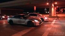 TX2K13 STREETS - DIG RACE!? - 870hp Evo IX vs 915hp GT-R