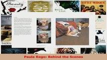 PDF Download  Paula Rego Behind the Scenes Read Online