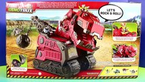 Dinotrux Mega Chompin Ty Rux Dino Revvit Reptool Search For Ore And Battle Imaginext T-Rex