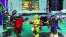 Ninja Turtles Battle Shell Parody Aerial Attack Leo Shoots Down Ground Pounder Raph