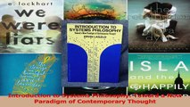 Read  Introduction to Systems Philosophy Toward a New Paradigm of Contemporary Thought Ebook Online