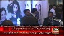 Karachi: President Musharraf arrives at Ho Mann Jahaan premiere