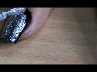 1. Double Border Nail Art