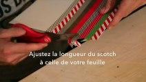 DIY : Fabriquer des guirlandes de Noël en masking-tape