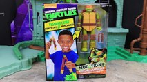 Ninja Turtles Figure to Weapon Toy Leonardo Mutation into Katana Sword Raphael Mutations into Psi
