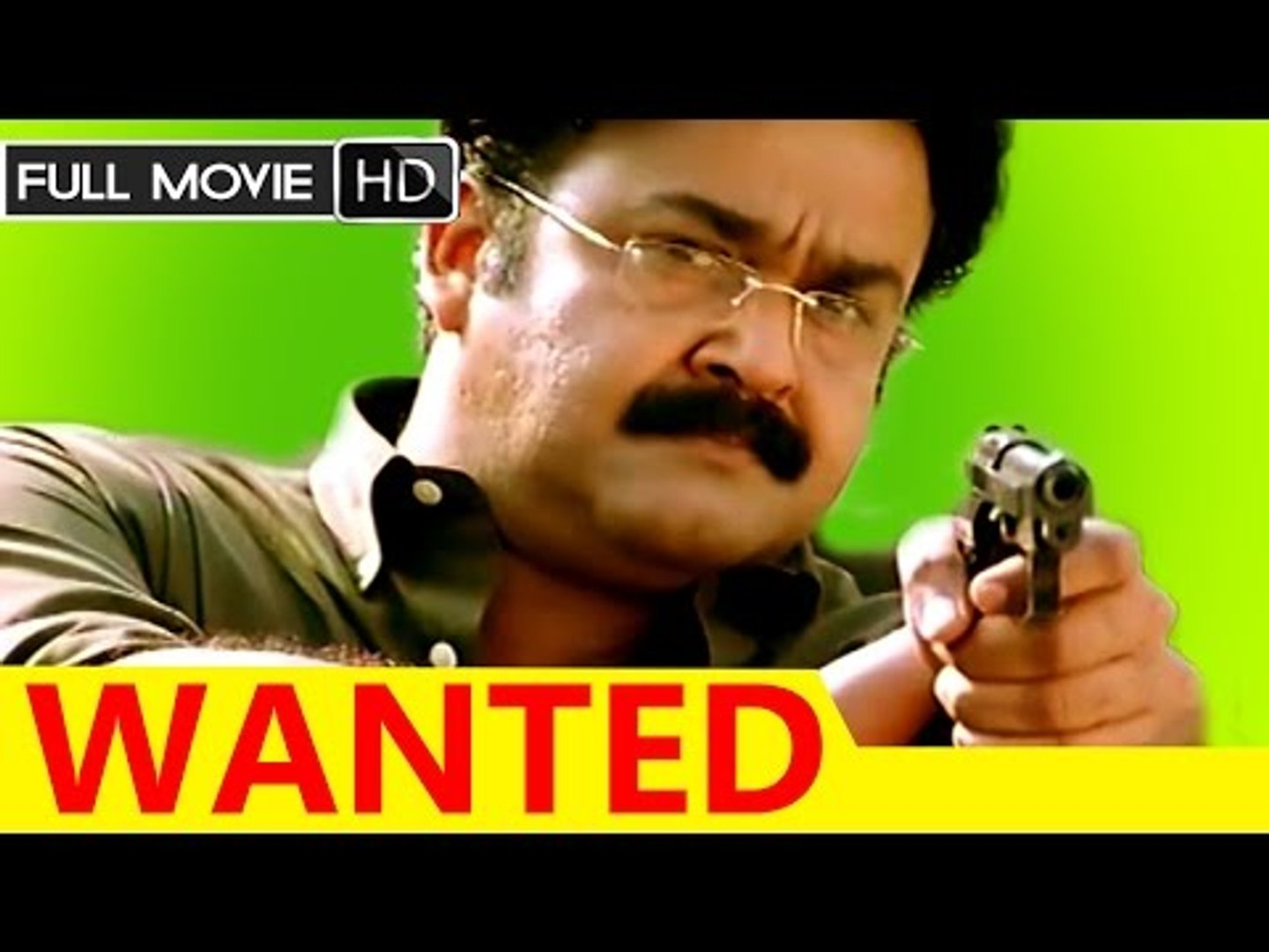 Malayalam Full Movie Wanted Full Hd Movie Ft Mohanlal Aravind