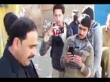 PTI Swat MPA Fazal hakeem fulfilling his duty, got angry on Contractor and labor