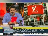 Pdte. Maduro llama a seguir defendiendo los logros de la Revolución