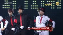 Super Junior SNSD SHINee - Smooth Criminal 3/4 09 Gayo Fest.K Dec30.2009 GIRLS GENERATION