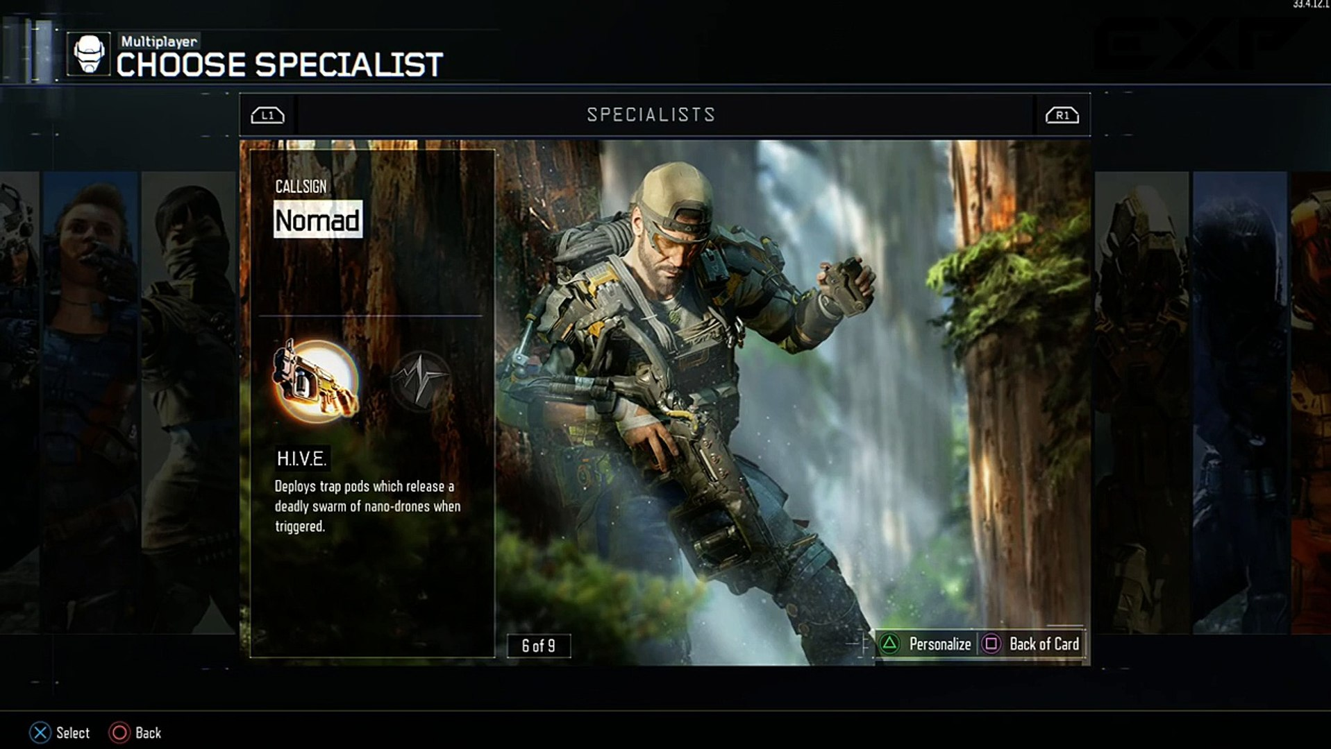 Black Ops 3 Nomad Specialist Personalization Gear Sets How To Get Custom Armor Video Dailymotion
