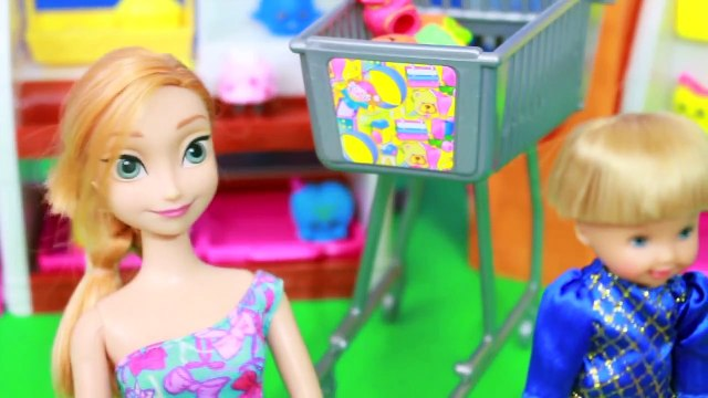 Shopkins Disney Frozen Anna Toby Barbie Shopkin Blind Bag Collection Bakery AllToyCollector