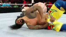 Dean Ambrose & The Usos vs. Sheamus, Rusev & King Barrett_ WWE Raw, 28 Dec, 2015