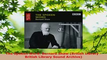 Read  The Spoken Word Bernard Shaw British Library  British Library Sound Archive EBooks Online