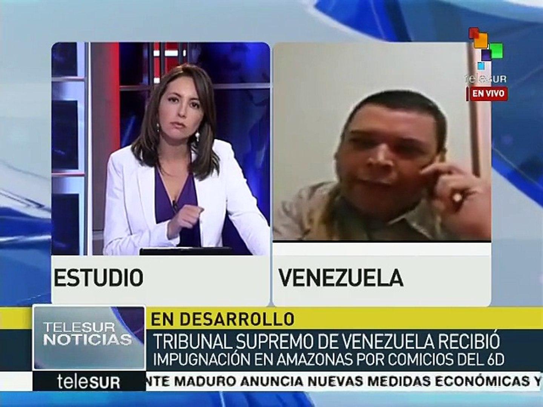Venezuela: TSJ recibe impugnación de comicios del 6D en Amazonas