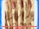 Prestbury Autumn 44(112cm) Wide x 72(183cm) Drop Floral Woven 3 Pencil Pleat Fully Lined Curtains.