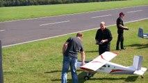 PILATUS PC 6 TURBO PORTA RC SCALE TURBOPROP MODEL AIRCRAFT / Jetpower Messe 2015