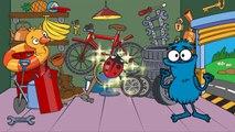 Lehrreicher Cartoon - Sammy Witzbold baut einen Sportwagen - Suchspiel
