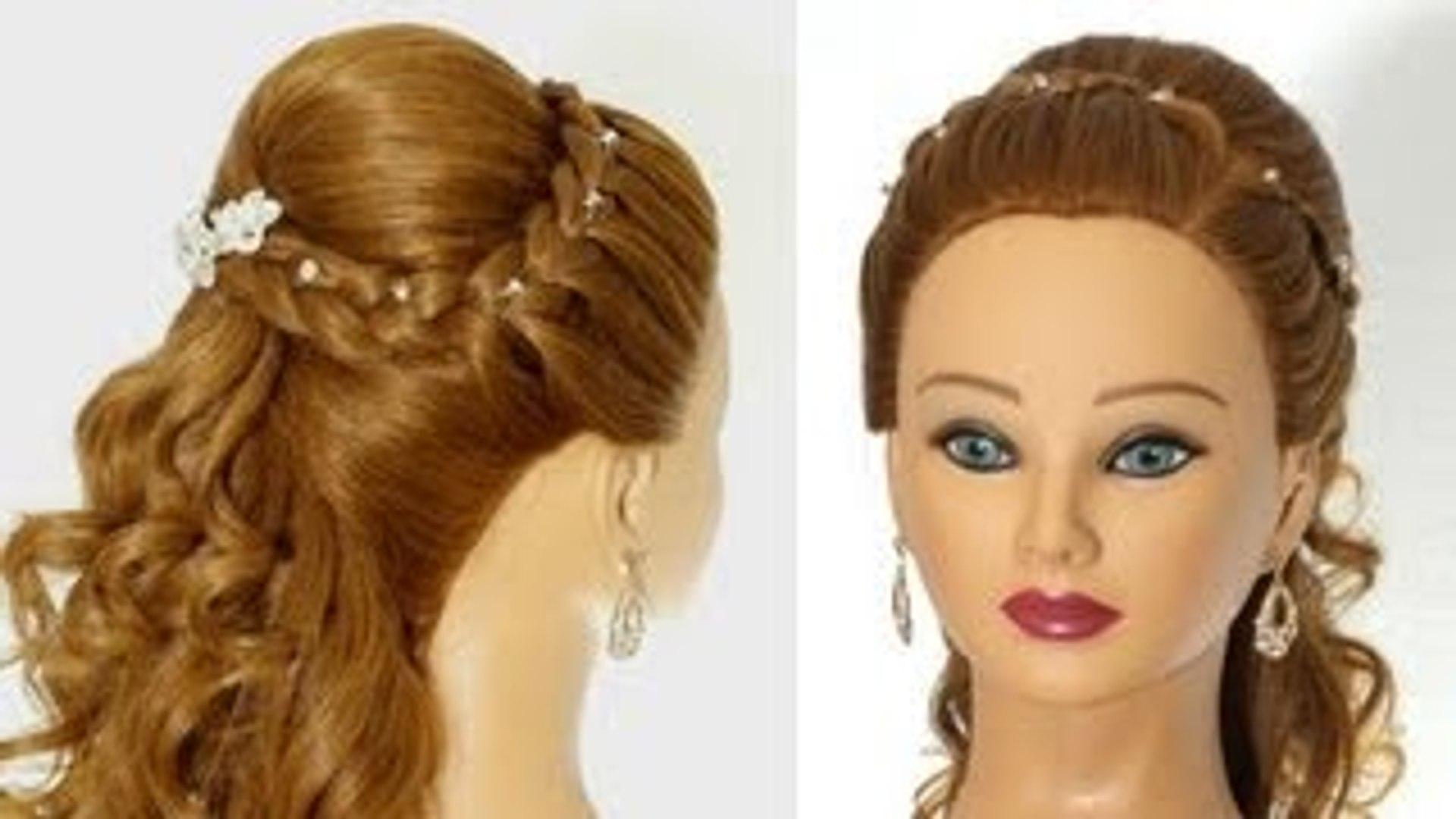 Wedding Prom Hairstyles For Long Hair Greek Goddess Hairstyle Dailymotion Video