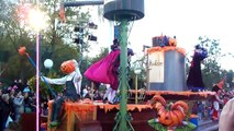 Resort Disneyland Resort Paris Parade Halloween 2008 Citrouille
