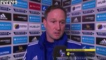 Chelsea 3 1 Sunderland Steve Holland Post Match Interview Still Fragile