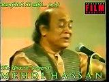 Mehdi Hassan Live in His Own Benefit Show - Ranjish hi Sahi