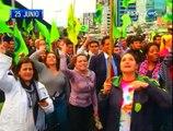 El 2015 fue año de protestas a favor y en contra del Gobierno