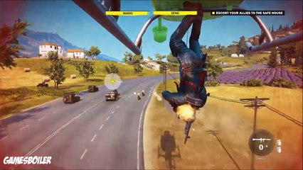 Just Cause 3 Walkthrough Part 7 ''TurnCoat'' Story Gameplay