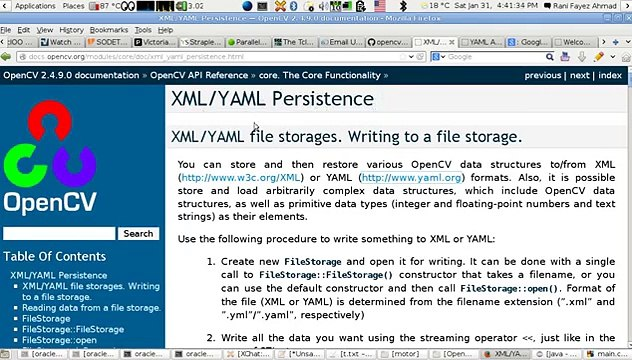 OpenCV Using C++ Lesson 27Read & Write An OpenCV Config XML or YAML FIle  (Arabic Version)
