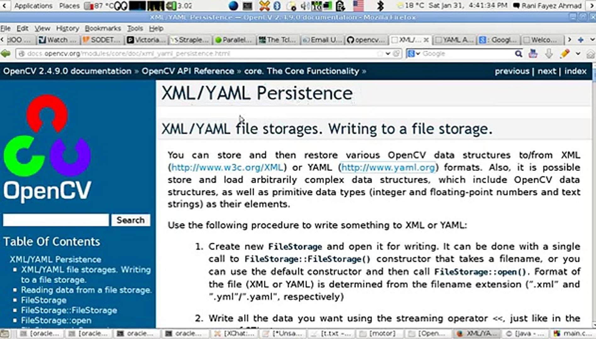 OpenCV Using C++ Lesson 27Read & Write An OpenCV Config XML or YAML FIle  (Arabic Version)